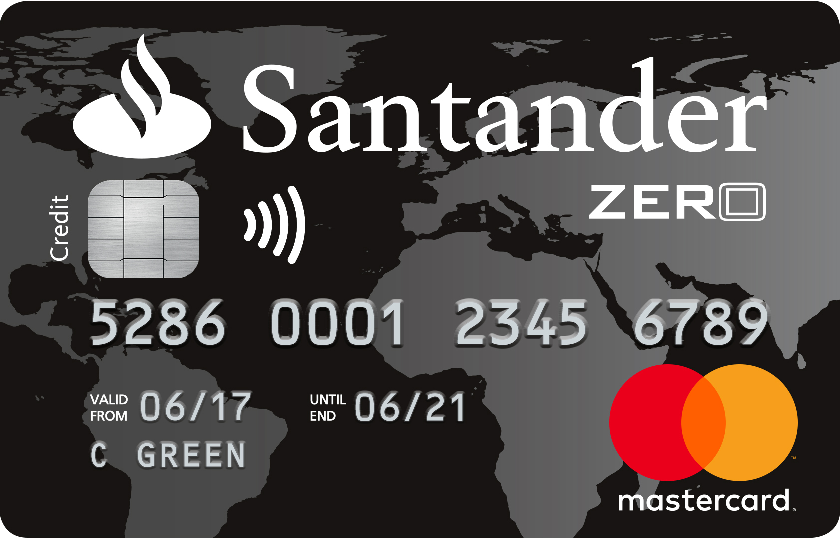 Santander zero credit card in depth info reviews - Cad santander ...