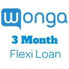 Wonga 3 Month Flexi Loan logo